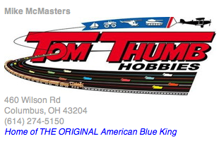 Tom Thumb Hobbies: 460 N Wilson Rd, Columbus, OH