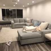 Couch turned pink Photo of Jaxon Home - Los Angeles, CA, United States ...