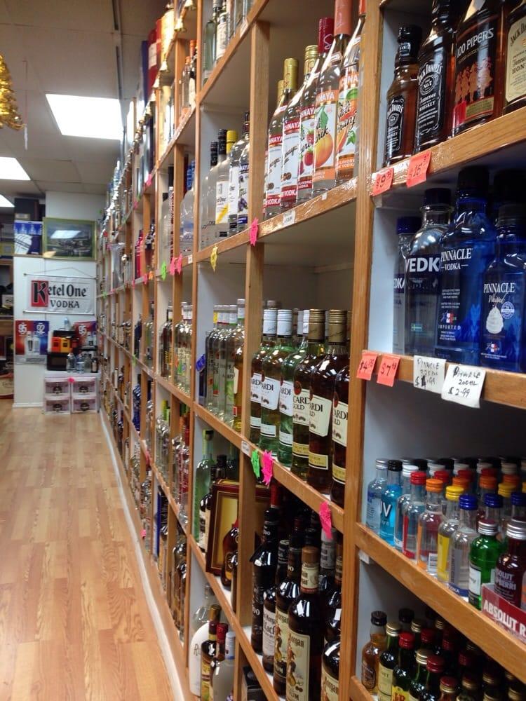 KSN Discount Wine and Liquors: 16 Franklin Ave, Hewlett, NY