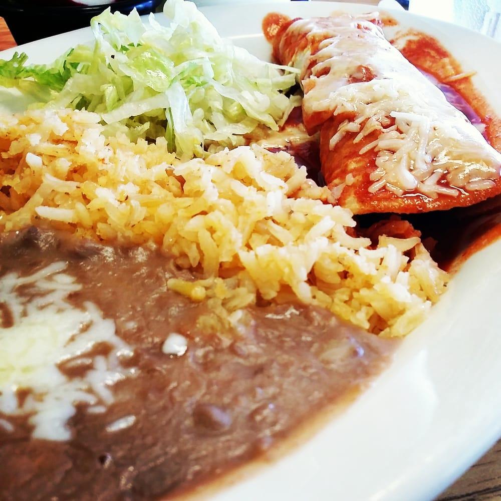 Enchiladas With Rice And Beans carnita enchiladas. wi...