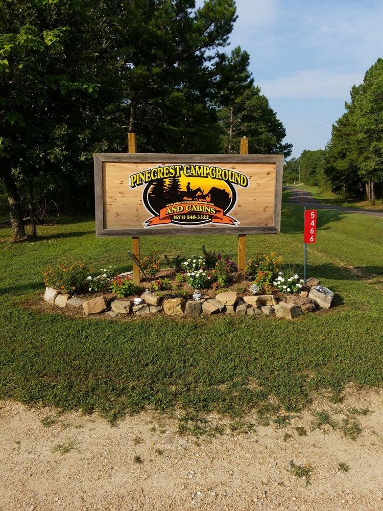 Pinecrest Campground & Cabins: 5466 Hwy Yy, Salem, MO