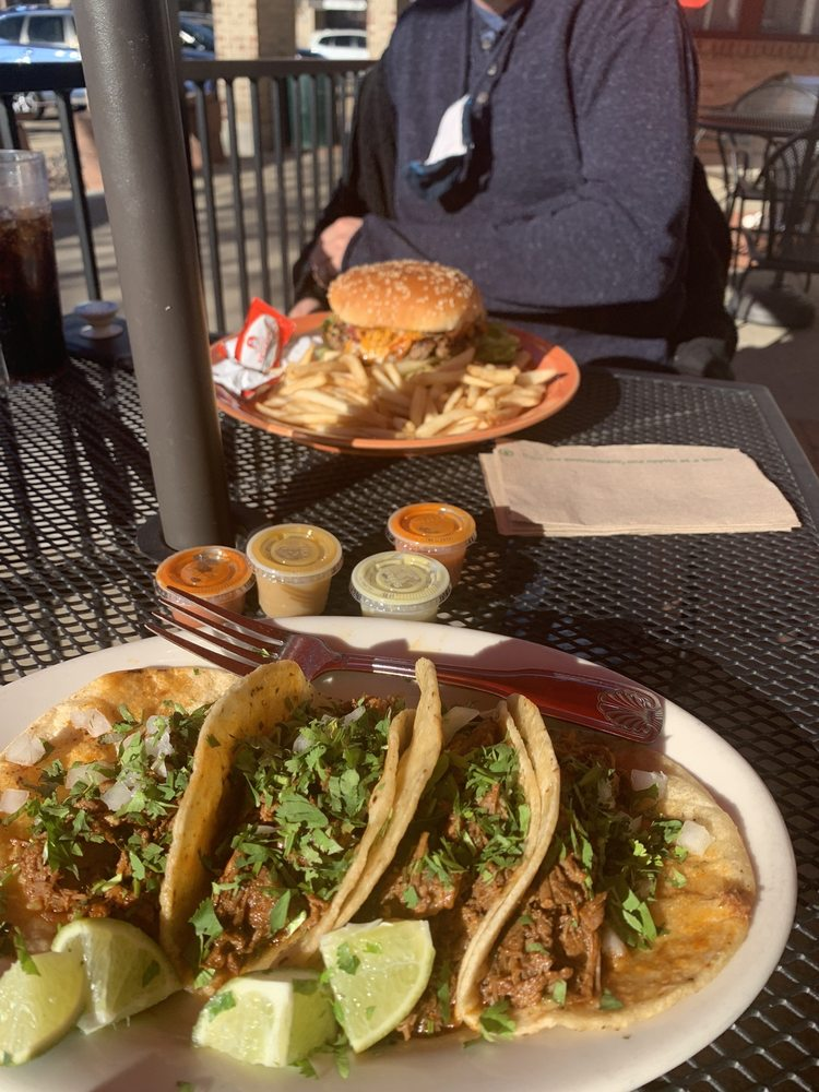 Food from Sancho's Authentic Mexican Restaurant