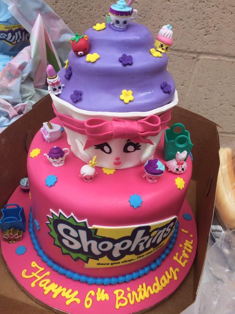 Shopkins Party Cake