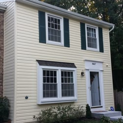 Photo Of New Sunrise Roofing   Springfield, VA, United States. Siding Job  Complete