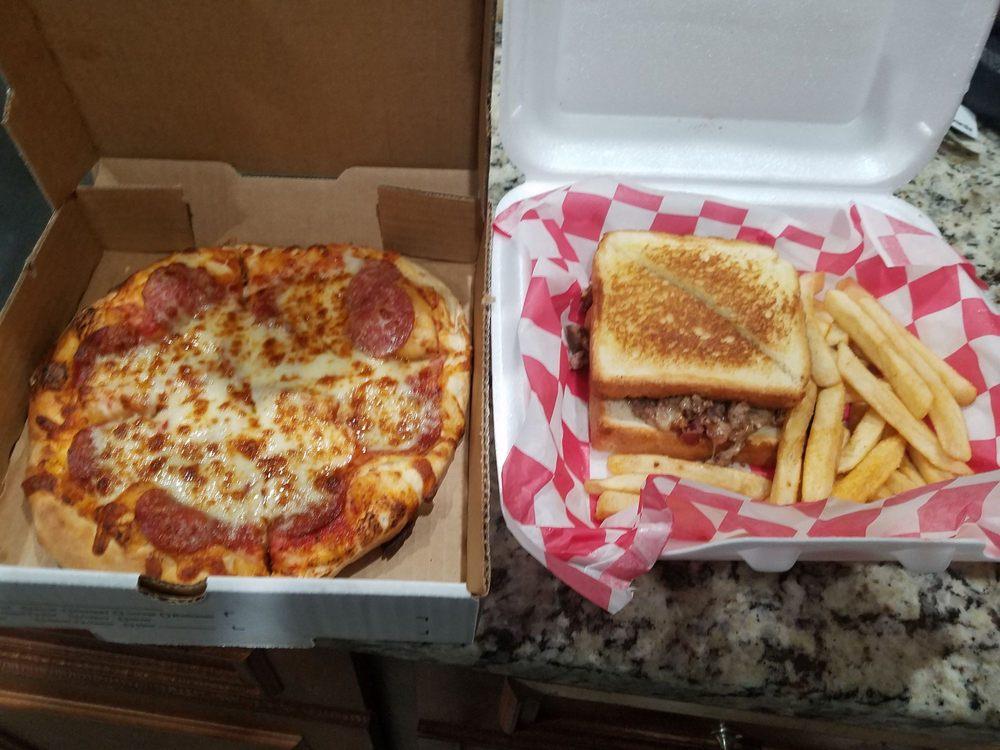 Pizza D' Action: 2368 Lee Road 430, Smiths Station, AL