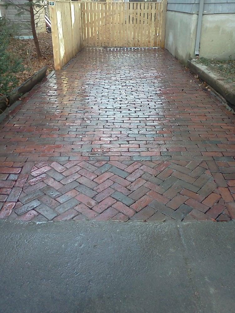 Reclaimed Brick Driveway In Cambridge Ma Yelp