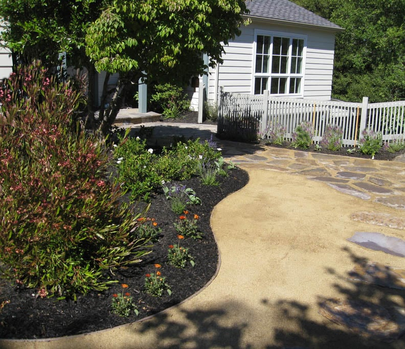 Decomposed Granite Replaced Lawn