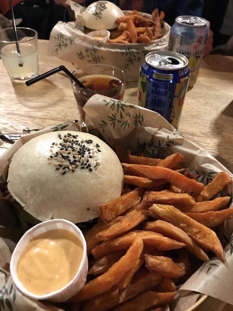 Baogo 12 avis burger rue gr try 48 50 centre ville for Cuisine 50 rue condorcet
