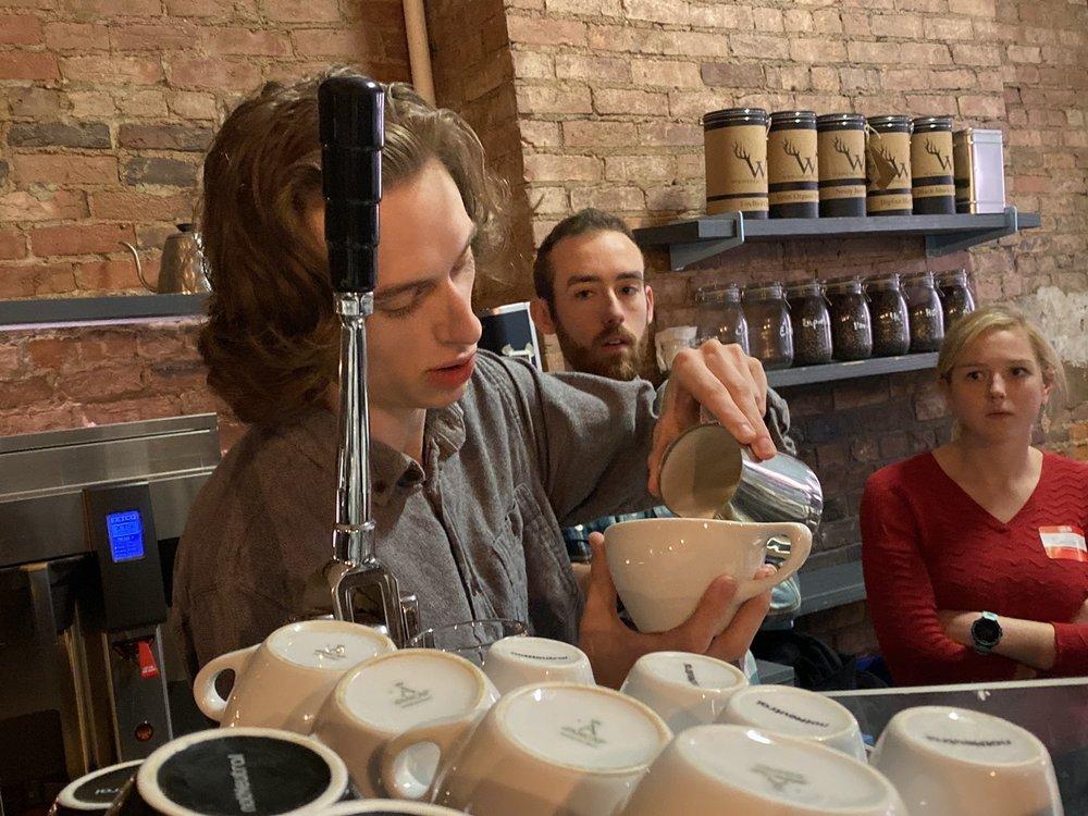 Ohio Brewed: Latte Art with Urbana Cafe: 1206 Broadway St, Cincinnati, OH