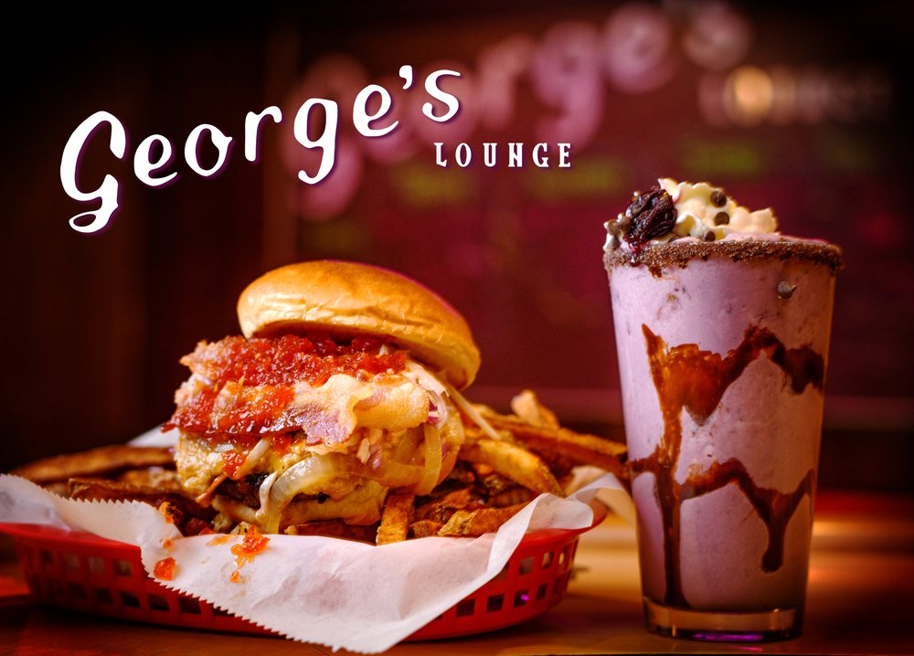 Food from George's Lounge