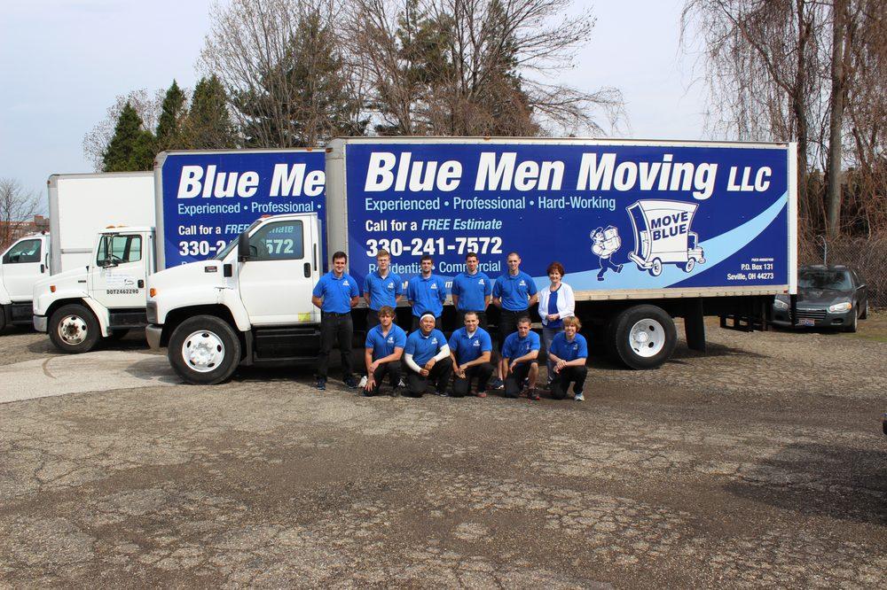 Blue Men Moving: 5101 Park Ave W, Seville, OH