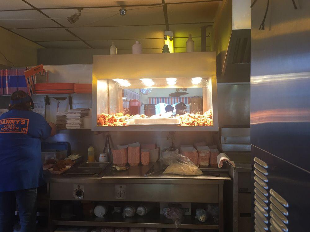 Danny's Fried Chicken: 819 Main St, Franklin, LA