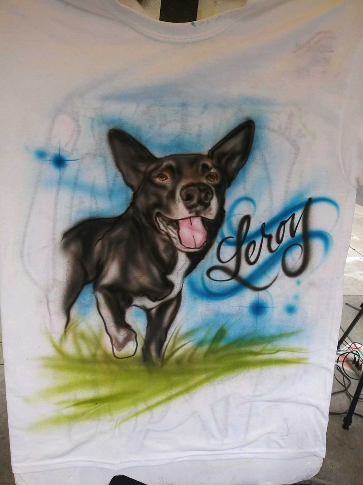 Couture Air Brush Art & Design: 4810 SW Western Ave, Beaverton, OR