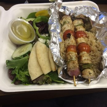 Zoes Kitchen Salmon Kabob zoes kitchen - 57 photos & 33 reviews - mediterranean - 7415