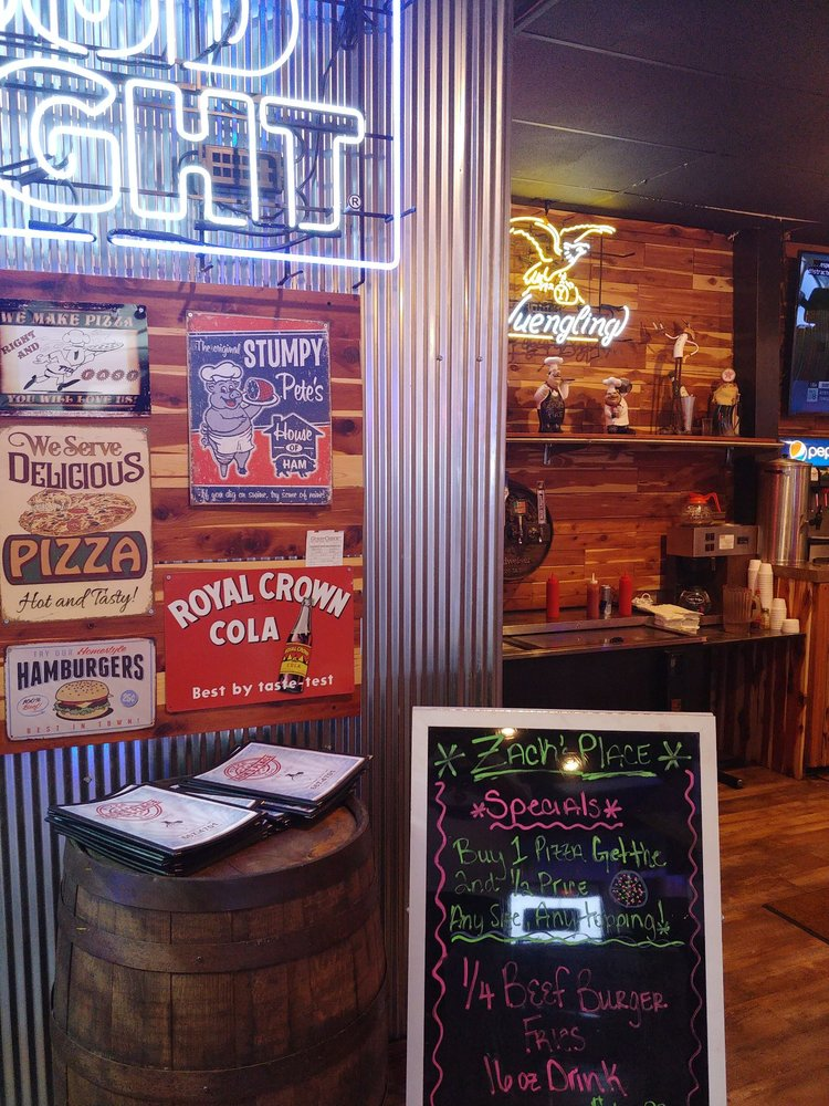 Zack's Place: 2913 W Commercial St, Ozark, AR