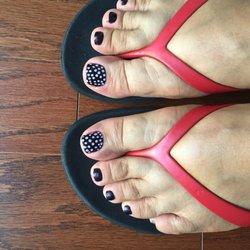 Nail art ii nail salons 632 bloomfield ave verona nj phone photo of nail art ii verona nj united states polka dot nails prinsesfo Images