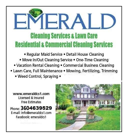 Emerald Cleaning Service & Lawn Care: 115 E Springfield Lp, Shelton, WA