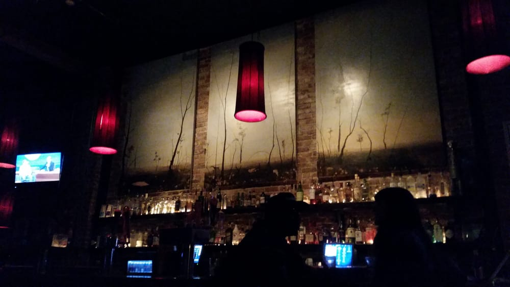 Cool bar background. .its all - Yelp