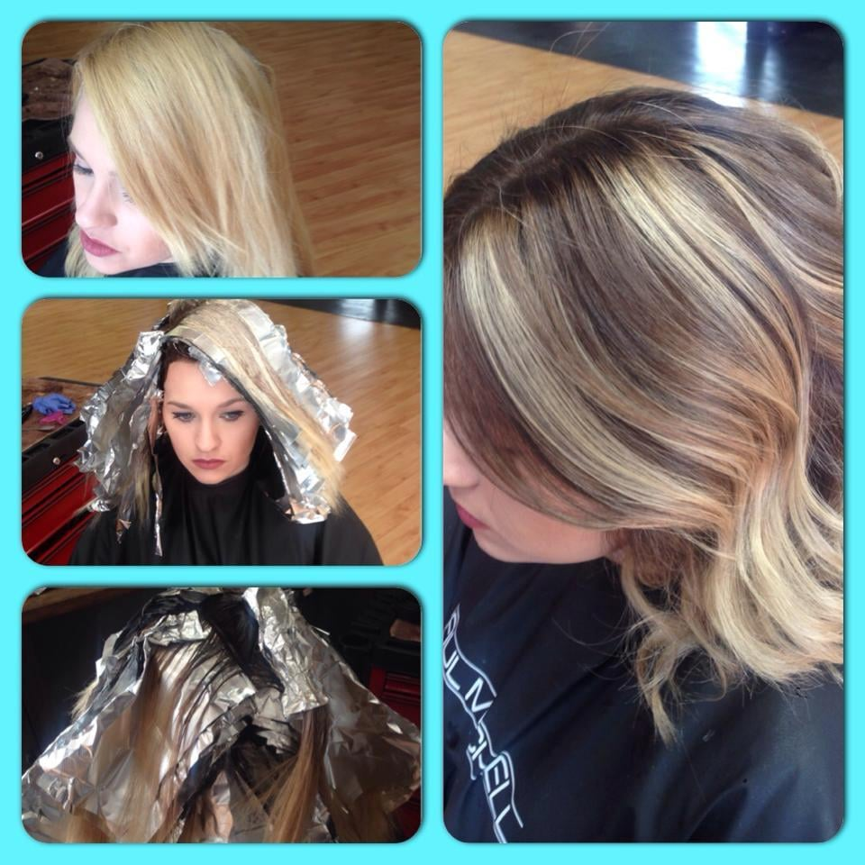 Color Correction Of An Over Lightened Brassy Blonde To A Beautiful