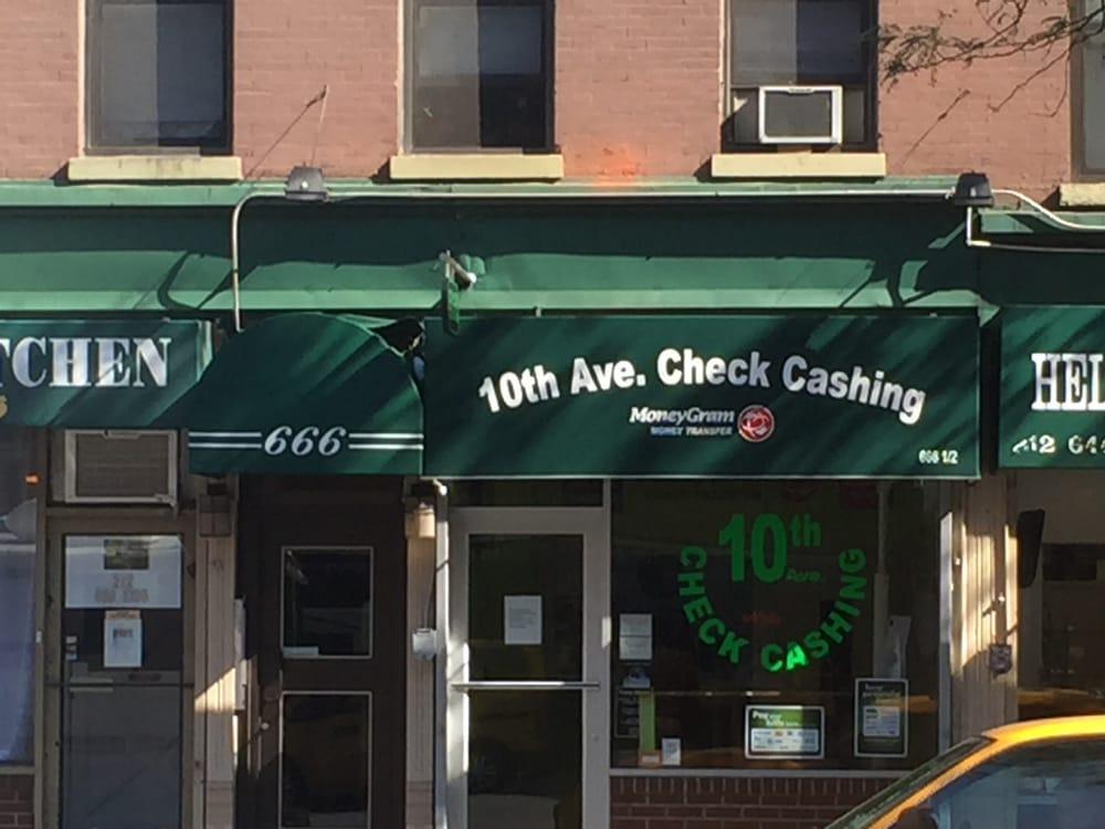 10th Avenue Check Cashing Corp