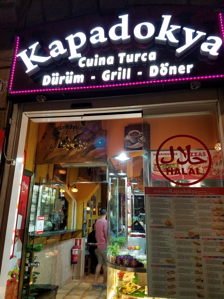 Kapadokya fast food carrer de la fusteria 6 8 barri for Fusteria barcelona