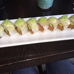 Bada Sushi - Suffern, NY, United States. Mahwah roll, delicious!!!