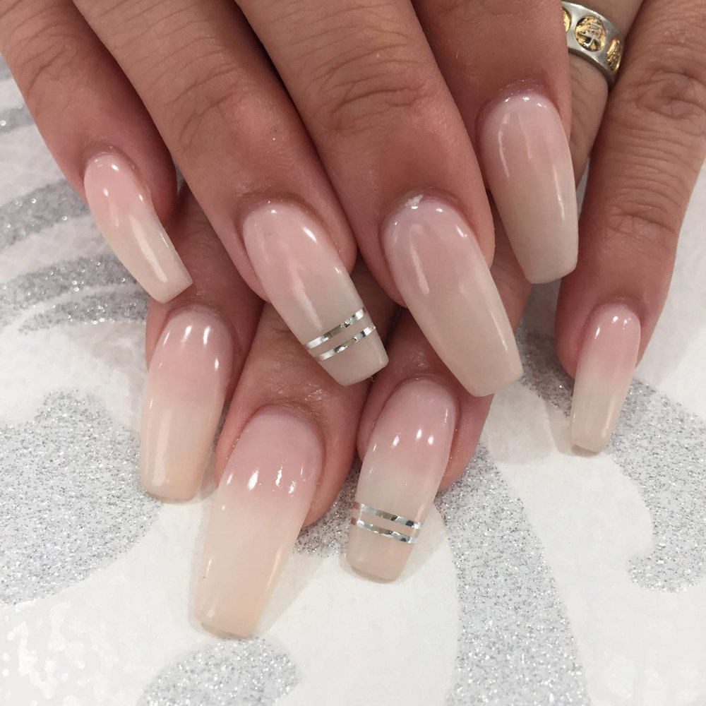 Shape; Coffin Color; Perfect Match Gel Polish in Pink Ribbon (sheer ...