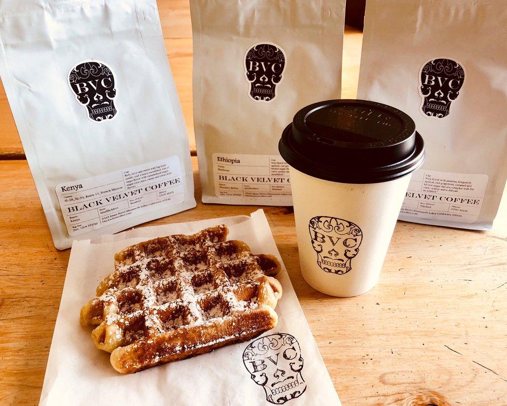 Black Velvet Coffee: 3343 Main St, Mammoth Lakes, CA