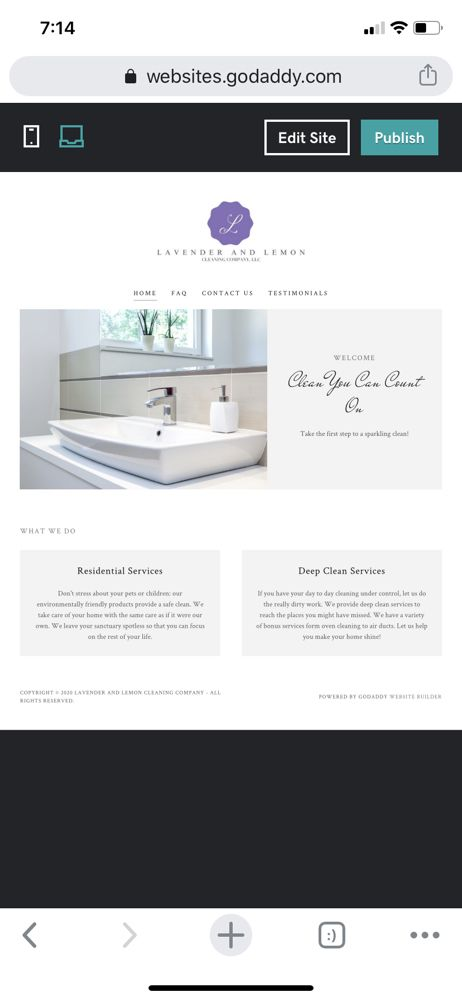 Lavender and Lemon Cleaning Company: La Porte, IN