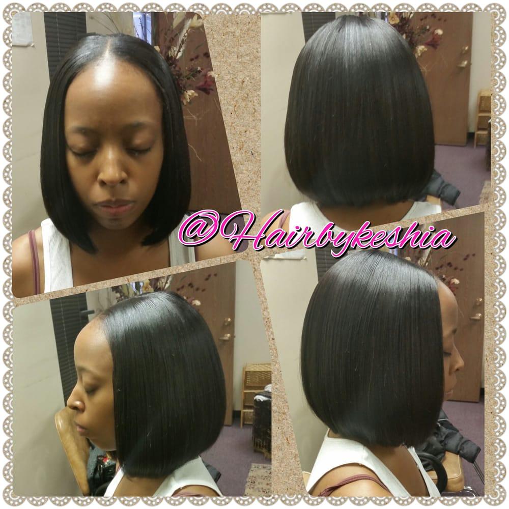 Simple Bob Quickweave By Hair By Keshia Yelp