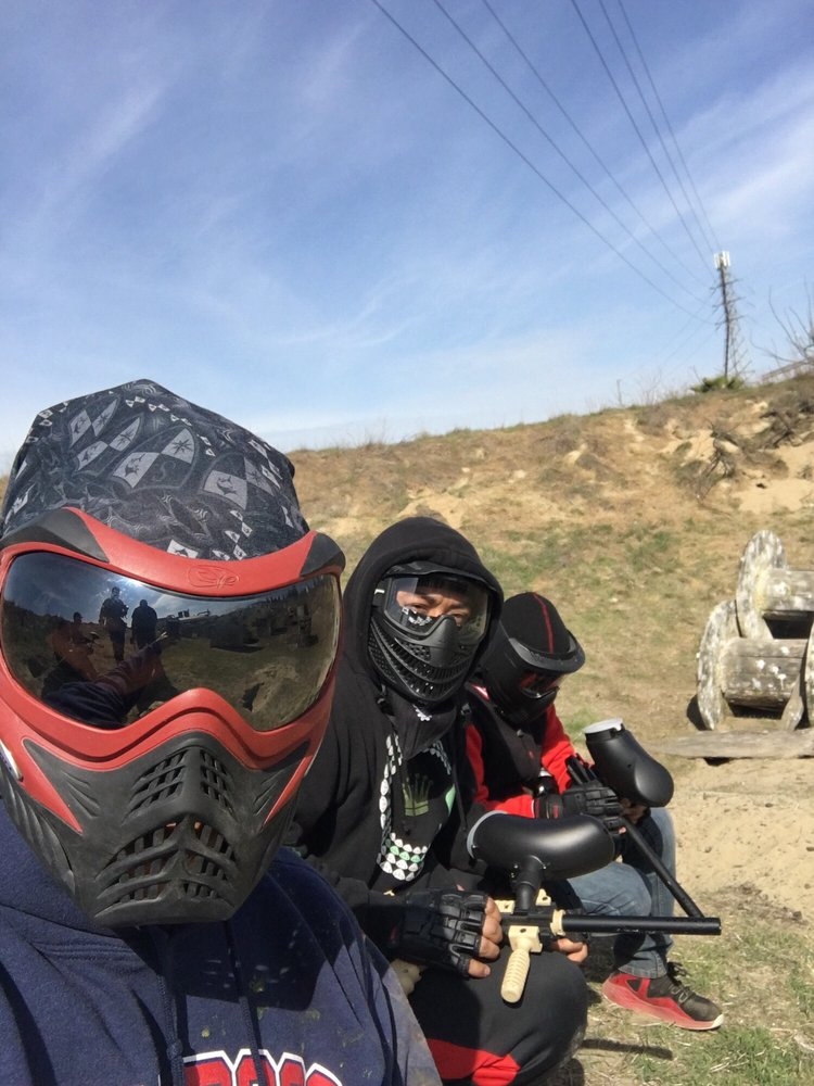 Red Taag Paintball