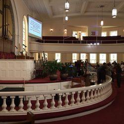 Big bethel ame church churches 220 auburn ave ne downtown photo of big bethel ame church atlanta ga united states the inside malvernweather Choice Image