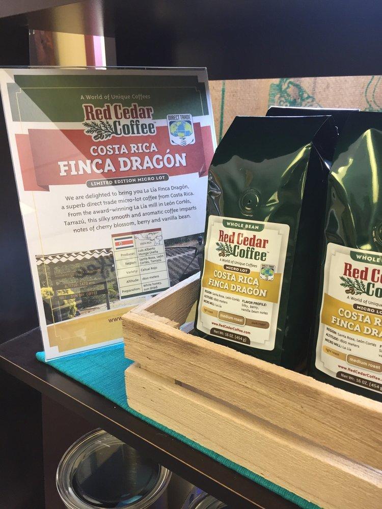 Food from Red Cedar Coffee Company