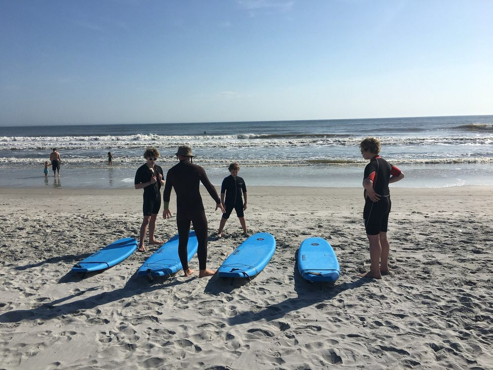 Thompson Surf School: 429 1st St S, Jacksonville Beach, FL