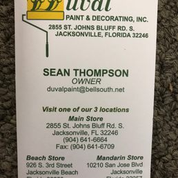 Photo Of Duval Paint Decorating Jacksonville Fl United States