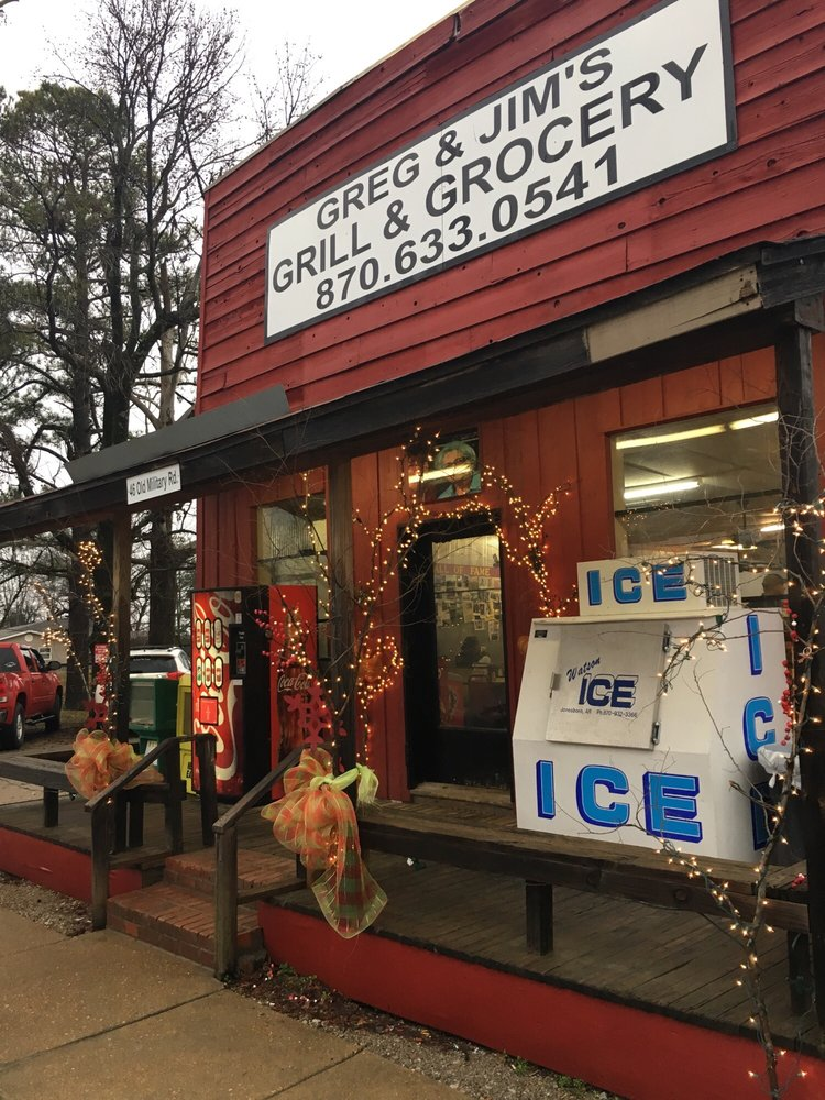 Greg & Jims Grill & Grocery: 46 Old Military Rd W, Colt, AR