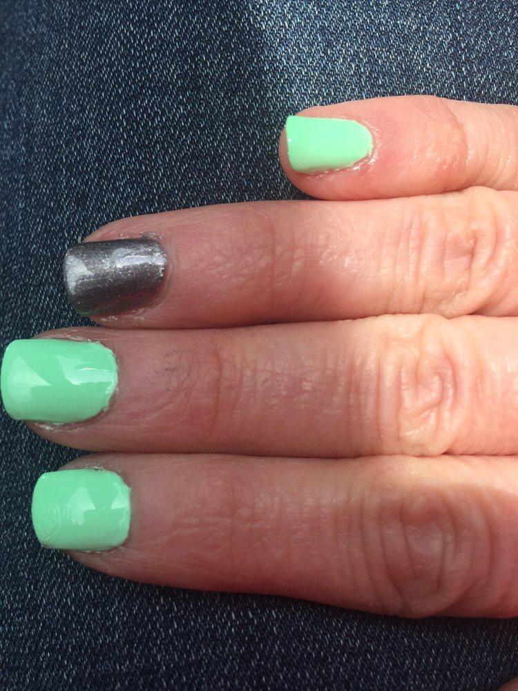 Nail polish all over my uncut cuticles - Yelp