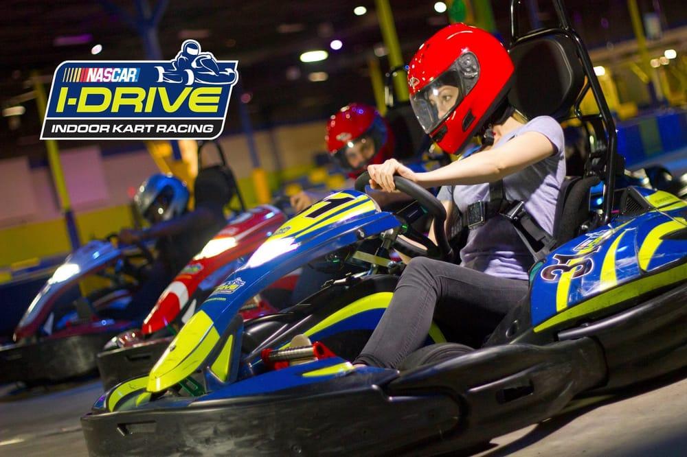 I-Drive NASCAR Indoor Kart Racing: 5228 Vanguard St, Orlando, FL