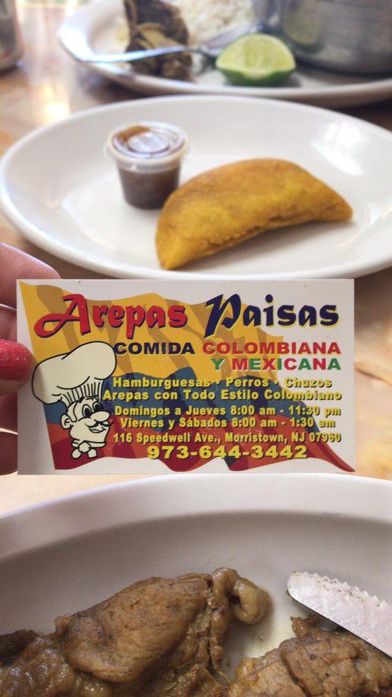 Food from Arepas Paisas II