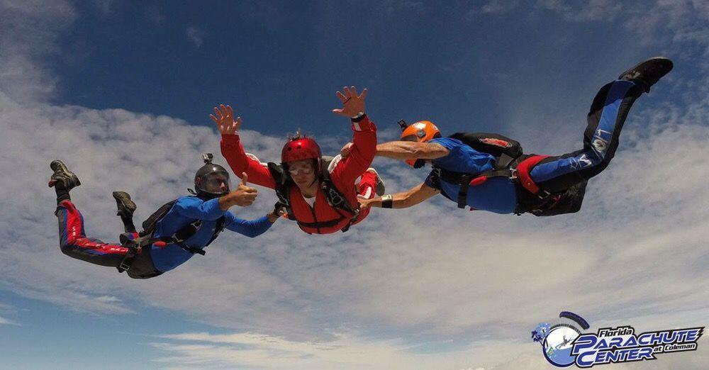 Florida Parachute Center: 1511 Taylor Ave, Coleman, FL