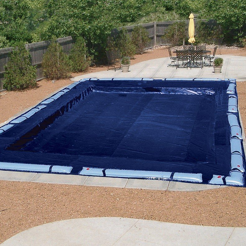 Winter Pool Cover with Water Bags - Yelp