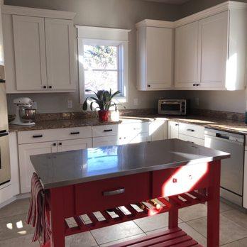 Elegant Kitchen Cabinet Refinishing Denver