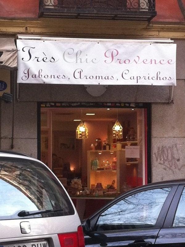 Tr s chic provence cosm ticos y productos de belleza - Calle castello madrid ...