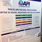 Photo Of Api Baggage Storage Jamaica Ny United States Prices
