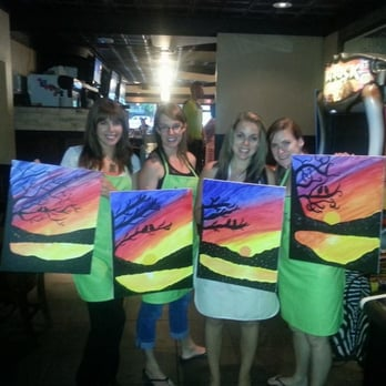 Canada Paint Nite  Off