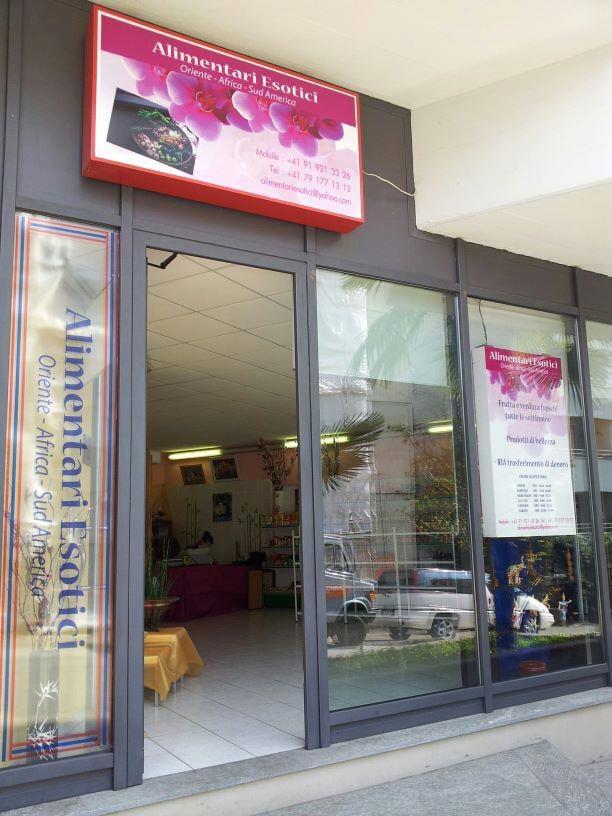 Alimentari esotici negozi alimentari specializzati via for Negozi arredamento lugano