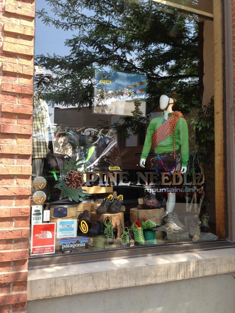 Pine needle mountaineering negozi di scarpe 835 main for Noleggio di durango cabinado colorado
