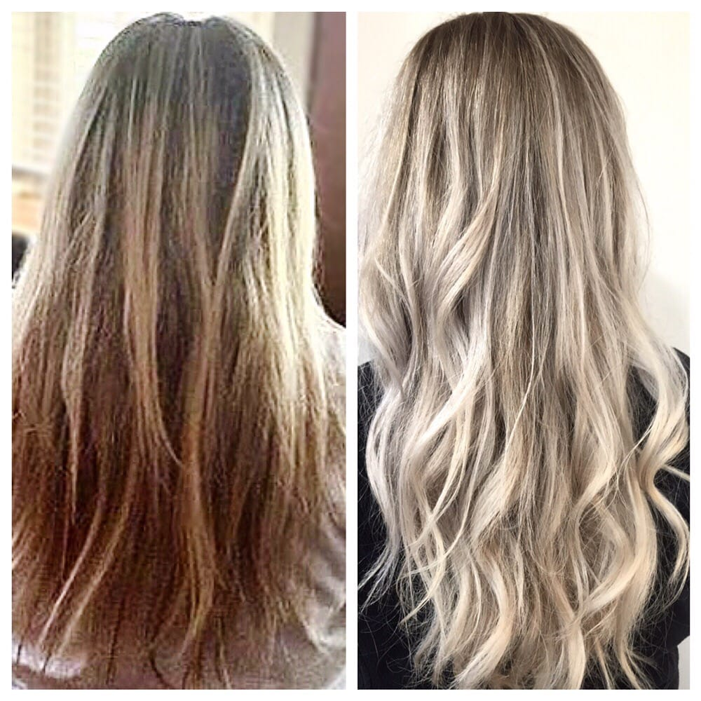 Before Amp After Eliminated Dark Underneath Color And Took