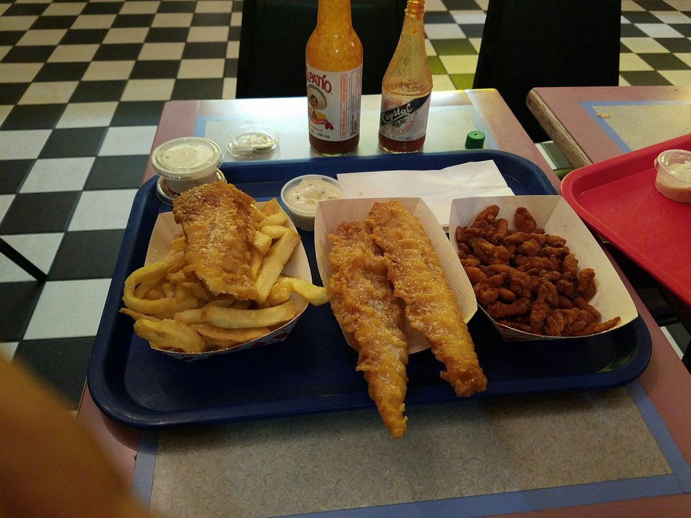 Winner yelp for H salt fish chips