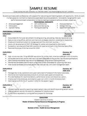 professional resume writing services in charlotte nc